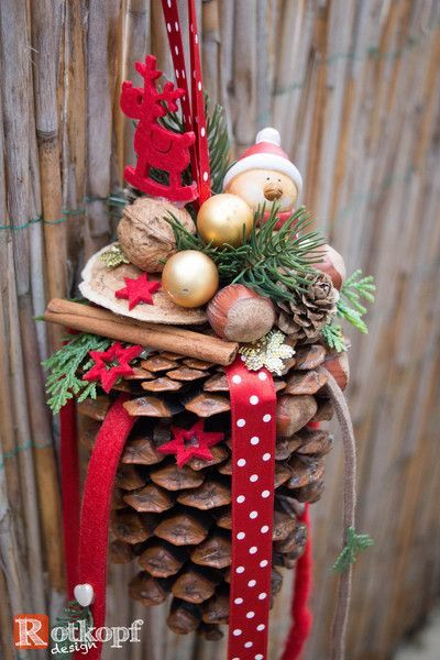 Photo of Make Christmas decorations with pine cones – wonderful DIY craft ideas