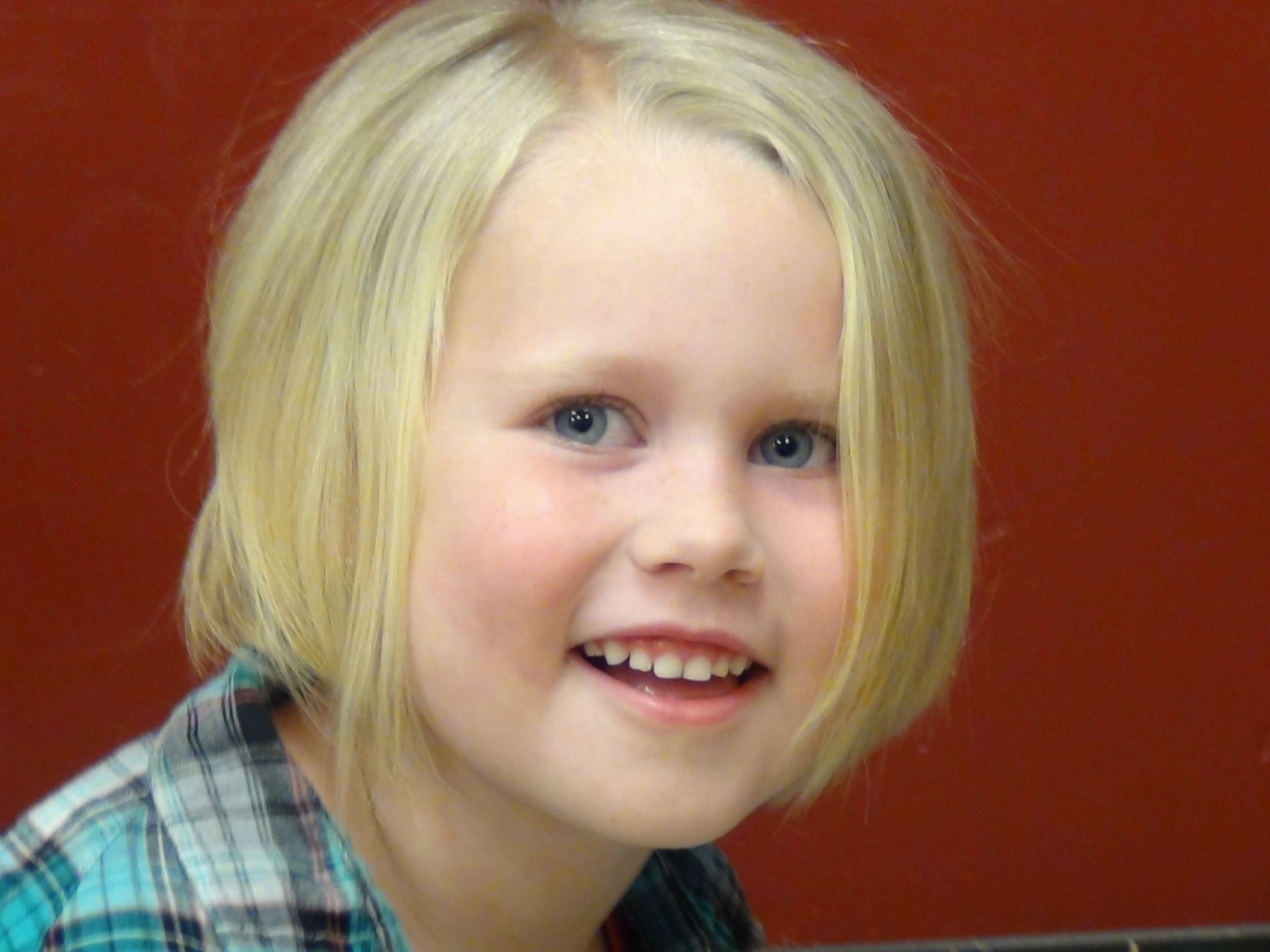 style a line haircut on the cutest little girl's hair   boys and