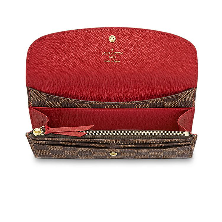 265592de9419f Discover Louis Vuitton Emilie Wallet Proving that functionality and  beautiful design can go together