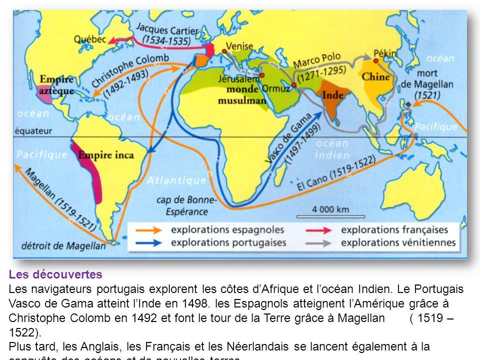 les explorations espagnoles