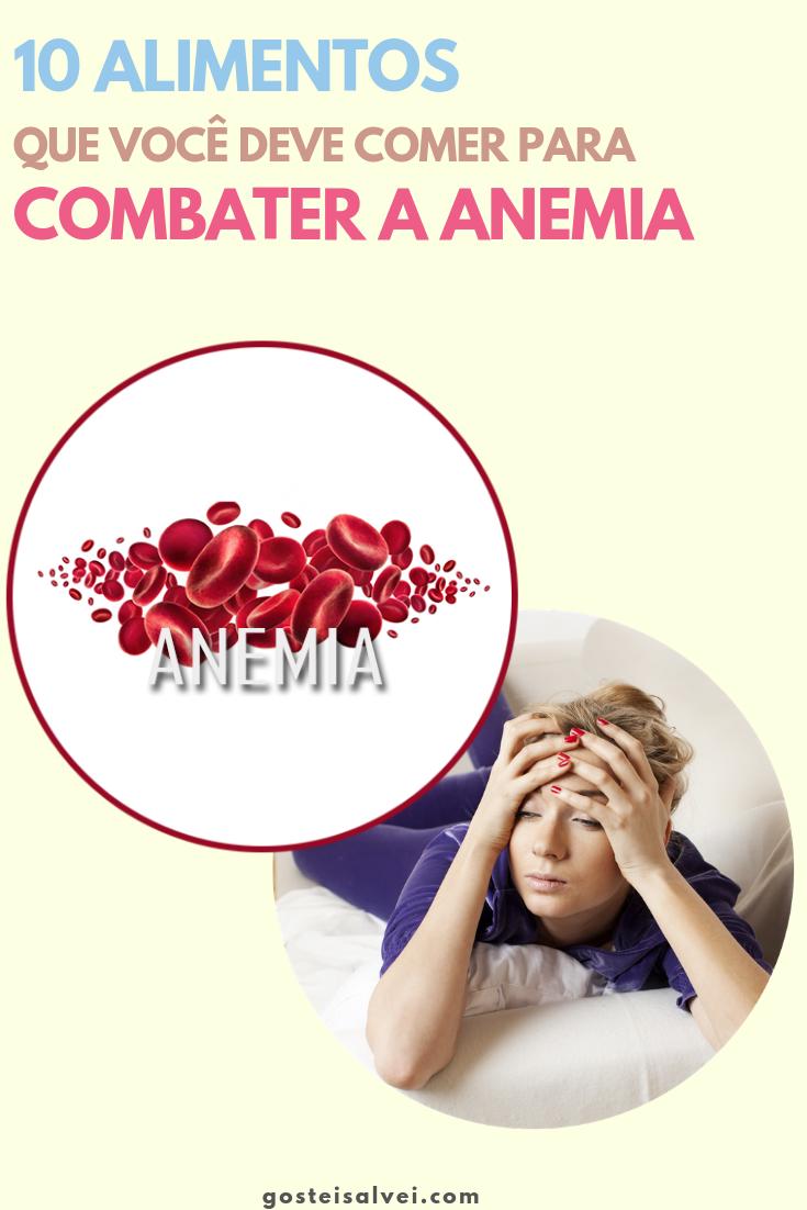 Que no comer anemia