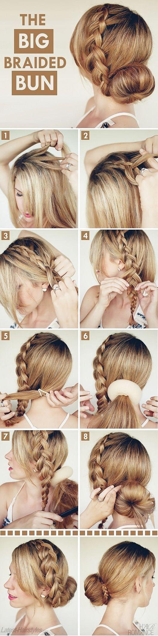 Top hair braid tutorials hair style