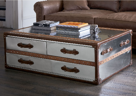 Crave Worthy Sundance Steamer Trunk Coffee Table Home Trunk