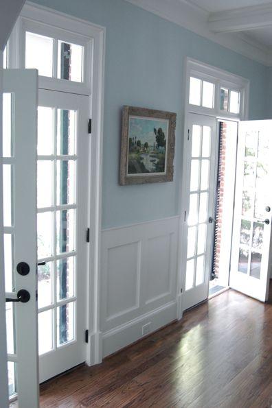 french doors/moldings