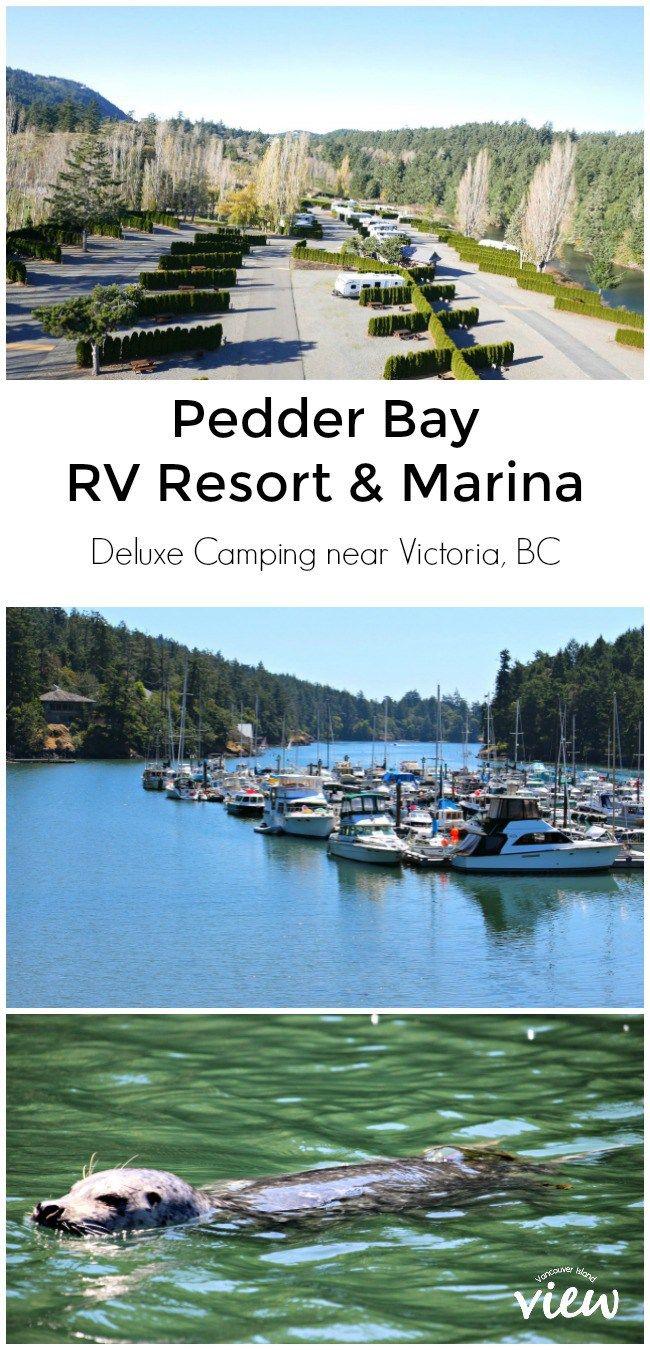 Pedder Bay Rv Resort And Marina Vancouver Island View Vancouver Island Resort Island