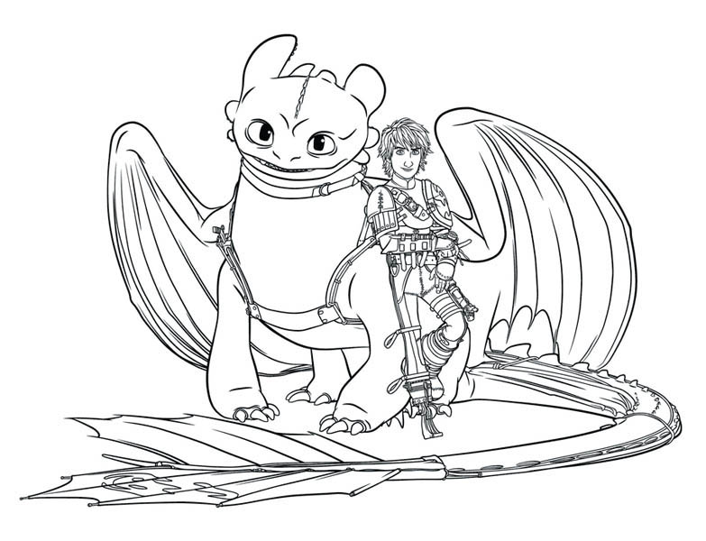 Picture Of How To Train Your Dragon Coloring Pages : Bulk Color Dragon  Coloring Page, How Train Your Dragon, How To Train Your Dragon