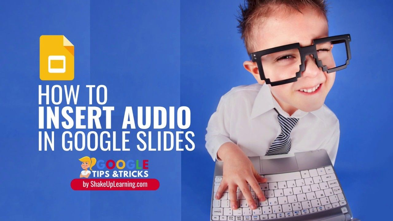 How To Insert Audio Voice Narration Or Background Music In Google Slides Google Slides Free Teaching Educational Technology