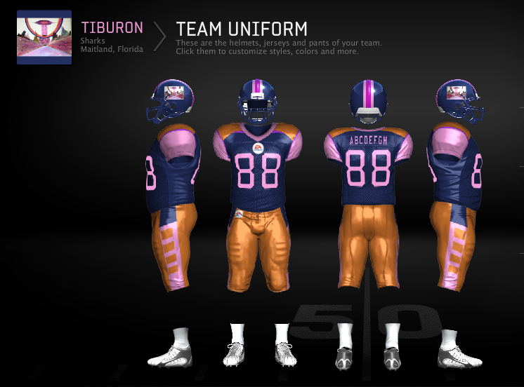 Pin By Andrew Negrey On Weird Teams I Found Or Made On Ea Teambuilder Team Uniforms Football Logo Ncaa Football