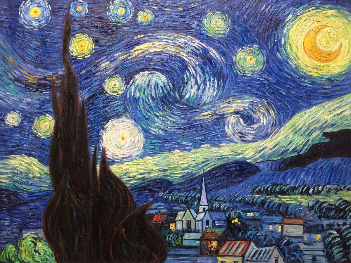 Christmas giftfamous oil painting of vincent van gogh