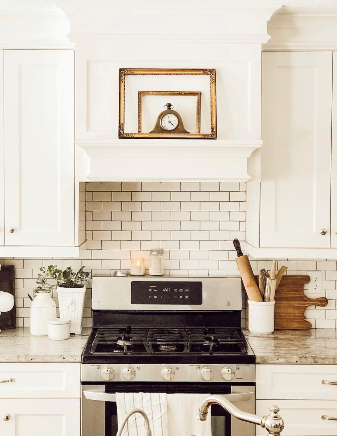 Modern Farmhouse Kitchen Decorating Ideas By Sage Hill Cottage Home
