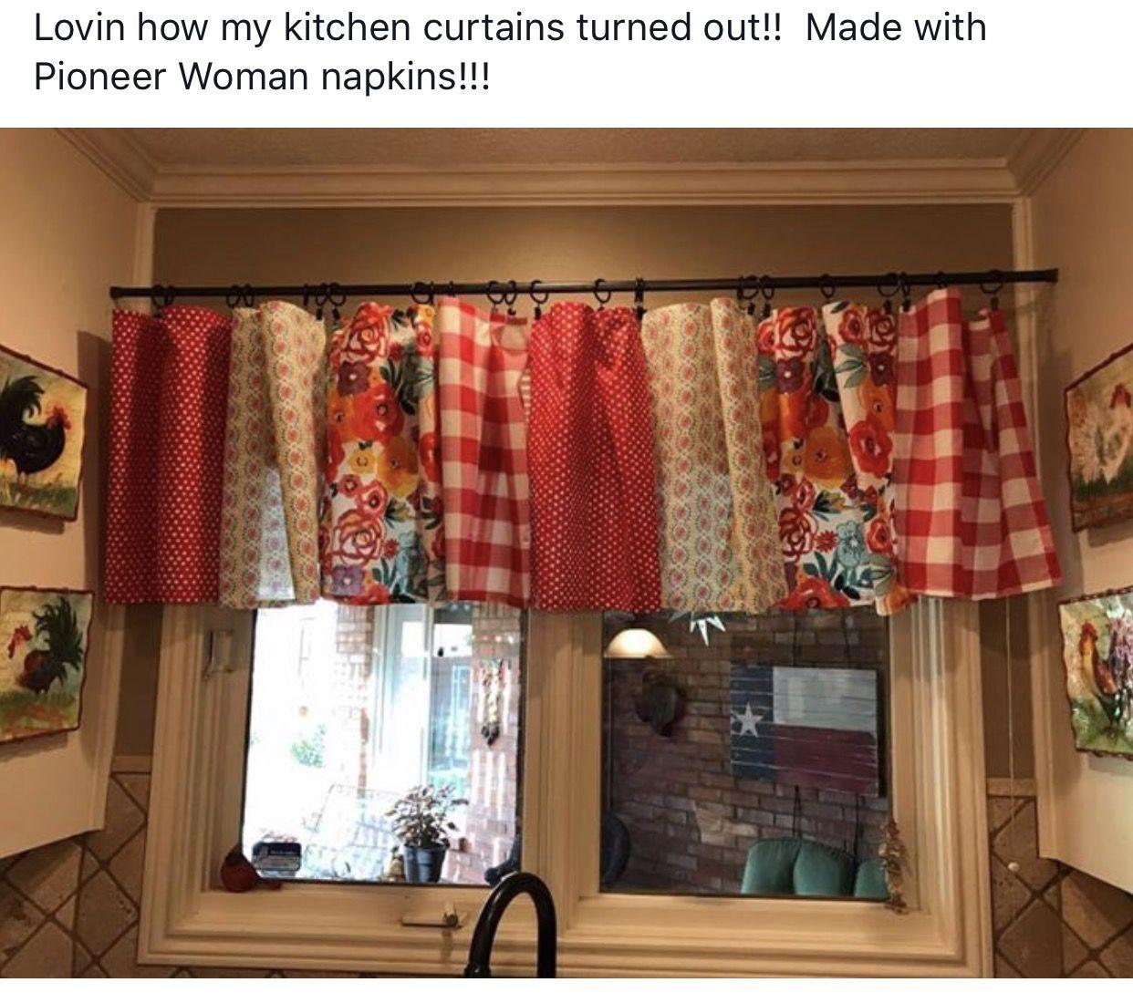 Pioneer Woman Kitchen, Kitchen Decor, Kitchen Curtains