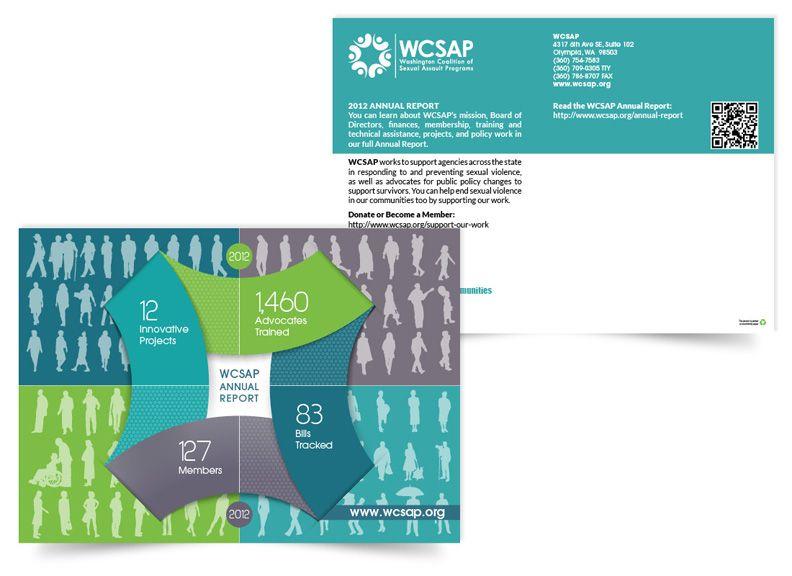 Annual Report  Postcard  Debi Bodett  Nonprofit Annual Report