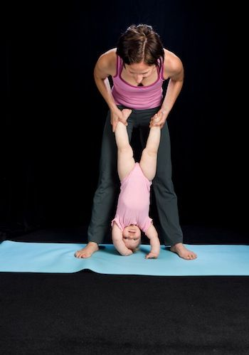 5 Yoga Poses For Mommies Babies Toddler Yoga Baby Yoga Mom And Baby Yoga