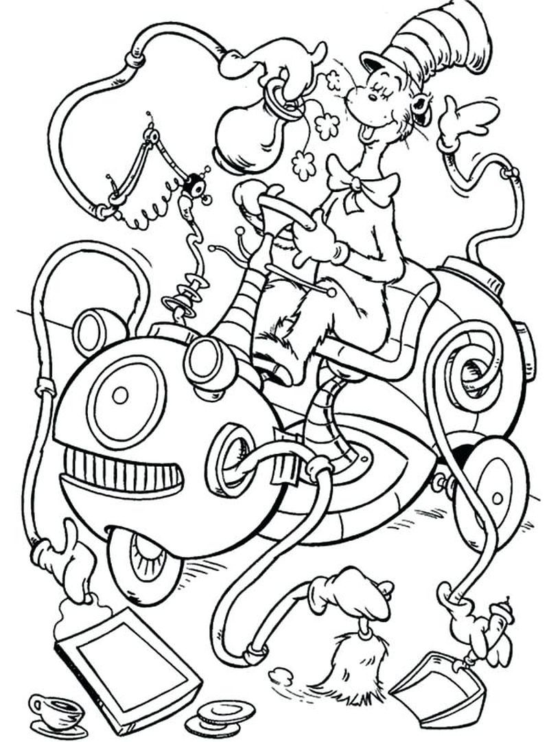 Cat In The Hat Coloring Pages Pdf Free Coloring Sheets Dr Seuss Coloring Pages Witch Coloring Pages Cat Coloring Page
