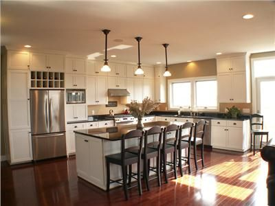 Airy Transitional Kitchen by Taunya Nelson AIA CID