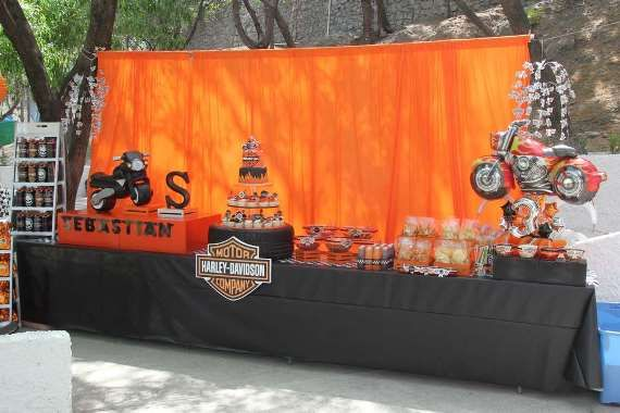 Harley Davidson Party Ideas For Young And Old Harleydavidson