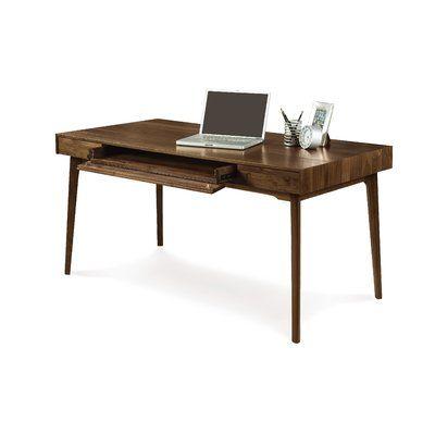 Copeland Furniture Catalina Solid Wood Computer Desk Wayfair In 2020 Copeland Furniture Furniture Wood Computer Desk
