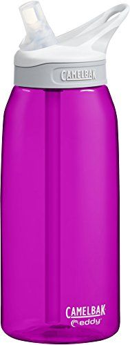 CamelBak Eddy Water Bottle Azalea 1 L *** More info could be found at the image url.Note:It is affiliate link to Amazon.
