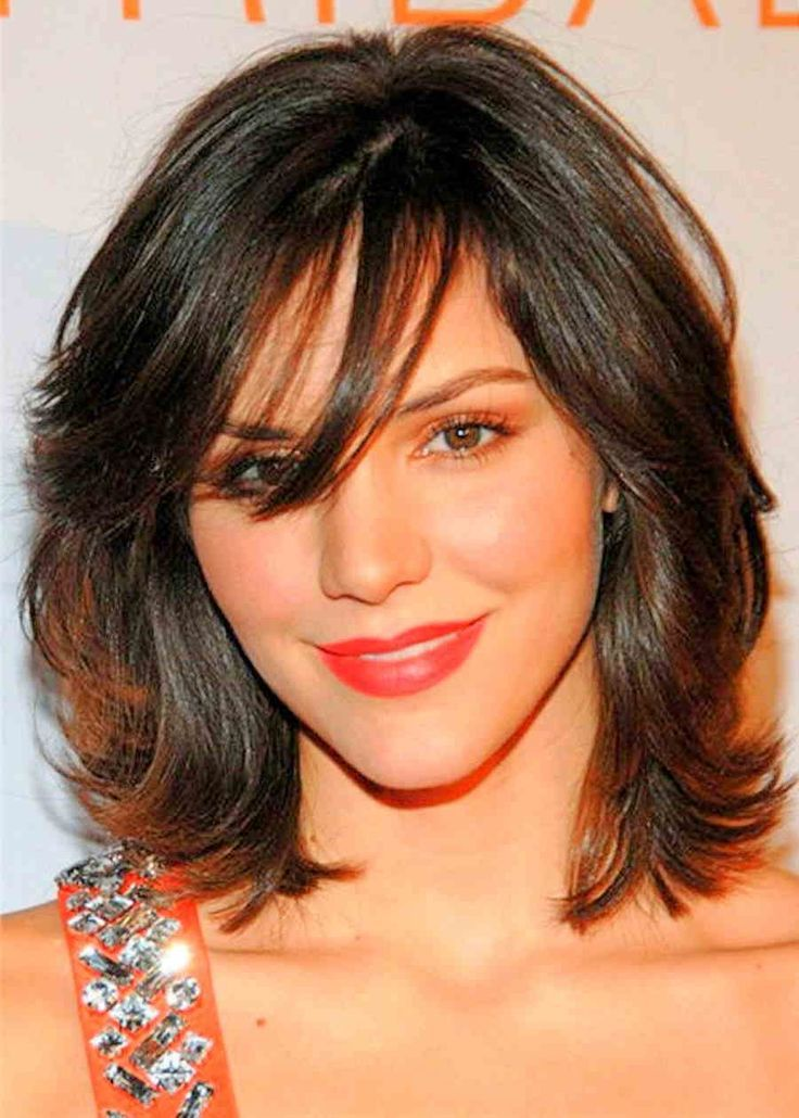 Image Result For Medium Length Hairstyles For Thin Hair Fat Faces