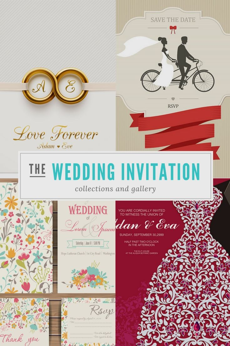 Several Examples Of Wedding Invitations | Wedding Invitation ...