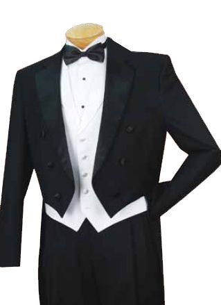 6 Button Tuxedo with Tails   Tie shoes, Dress suits and Fashion ...