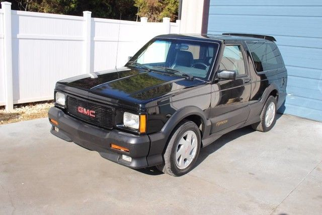 1992 Gmc Typhoon Awd Sport Performance Suv 92 4 3 Auto Jimmy 93 91