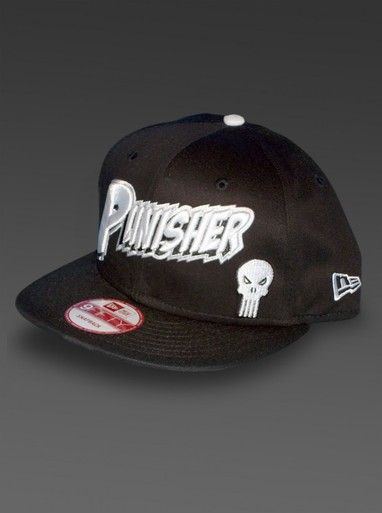 brand new 148a1 c5722 Limited edition - Punisher New Era Hat - 9Fifty Snapback