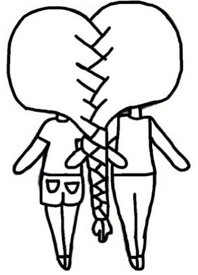 Dibujos Para Dibujar A Lapiz De Paisajes Dibujos Kawaii Dibujos De Amistad Faciles Mejores Amigas Dibujo