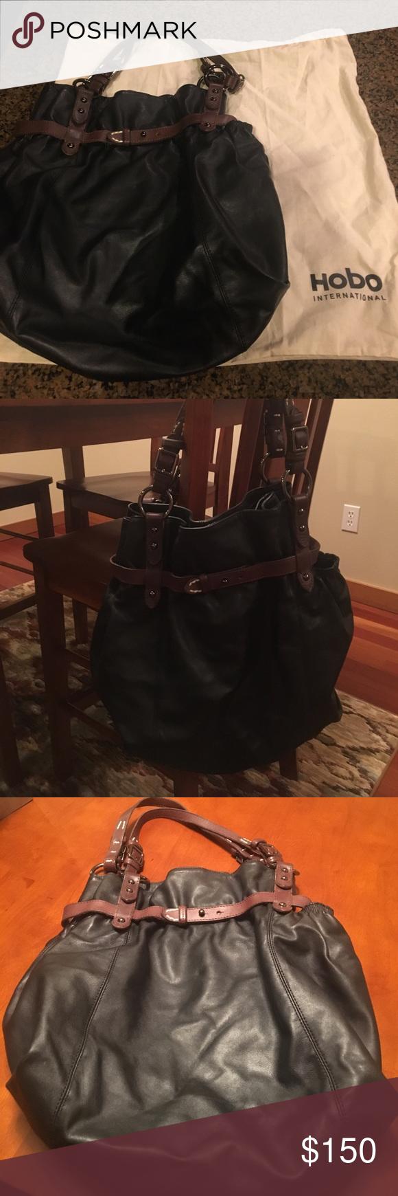 113f86d7bf8 Hobo International Black Bucket Bag   Bucket bags, Hobo bag and ...