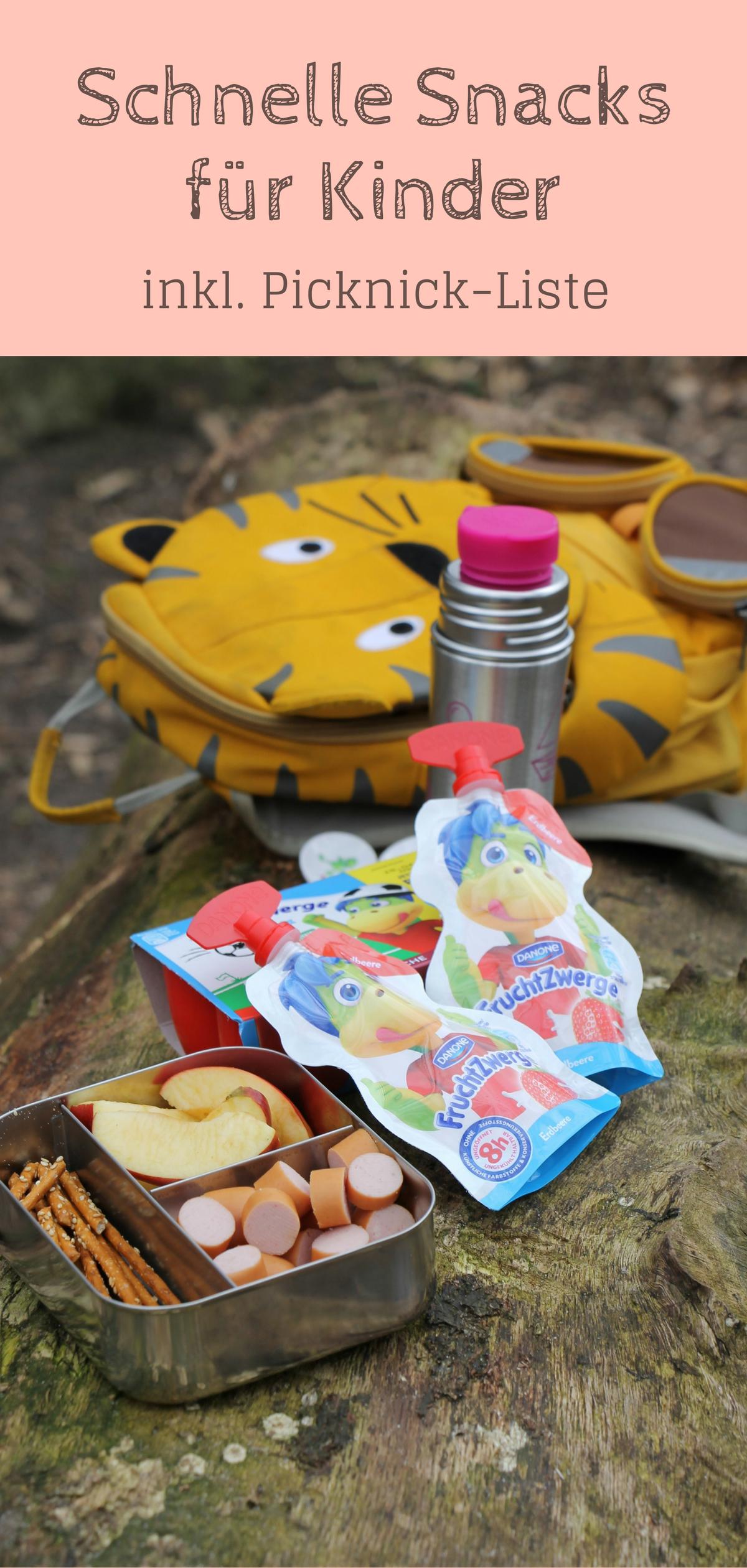 Anzeige: Kleine Snacks für Kinder - Ideen für unterwegs (in ...