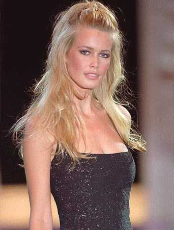 claudia schiffer cindy crawford