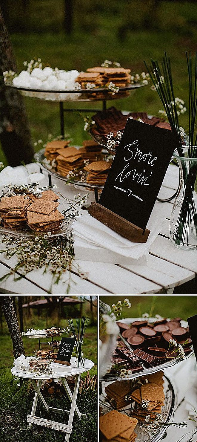 15 Unique and Delicious Wedding Food Bar Station Ideas