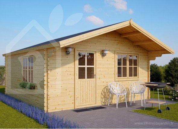 Chalet de jardin NICE | Chalet en kit | Residential log cabins ...