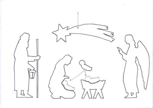 schablonen der weihnachtsfiguren scrollsaw patterns. Black Bedroom Furniture Sets. Home Design Ideas