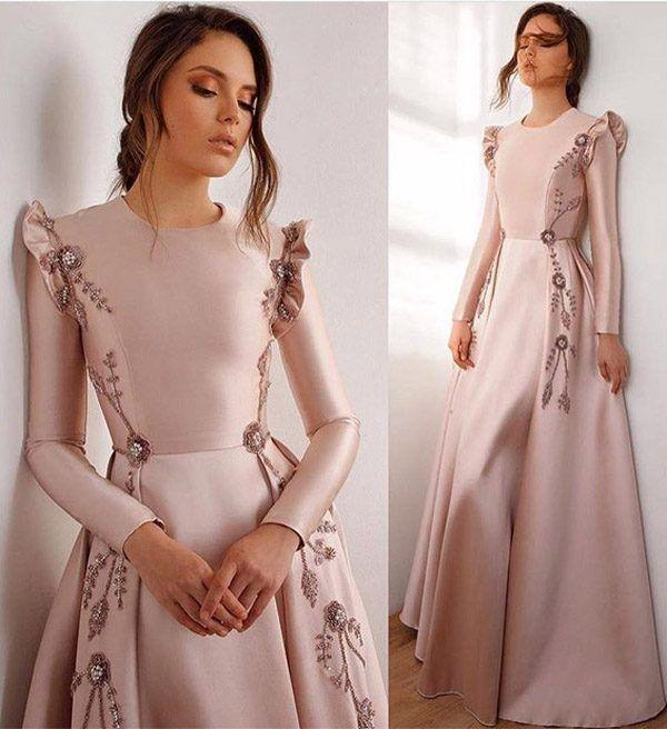 Latest Trendy Dresses Styles For 2019 Girls Hijab 2020 Ziyafet Elbiseler Parti Elbisesi Kiyafet
