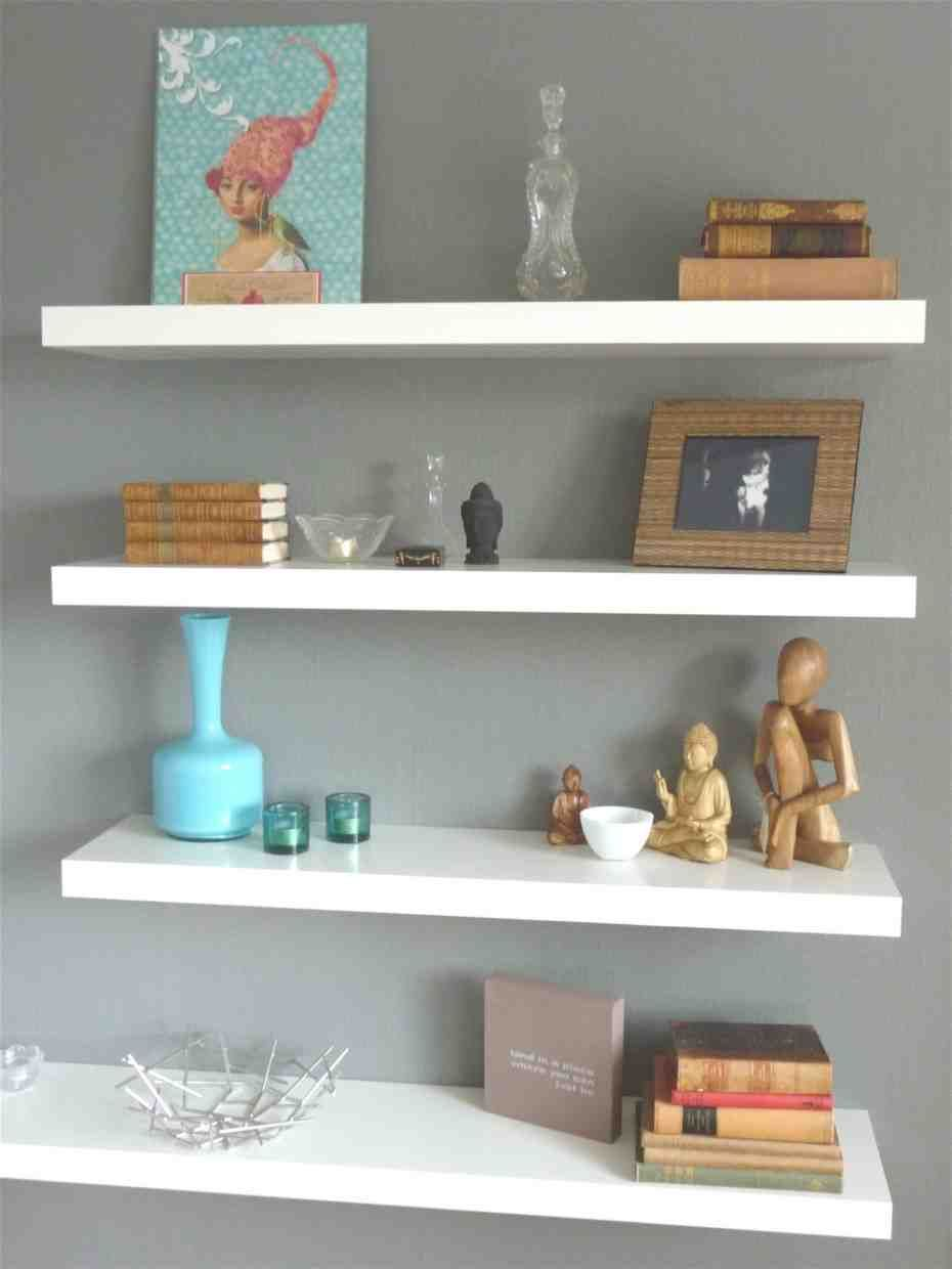 Floating Wall Shelves Decorating Ideas Unique Wall Shelves Wall