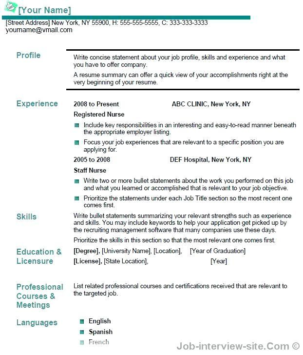 A Resume Title Examples Resume Examples Pinterest Resume