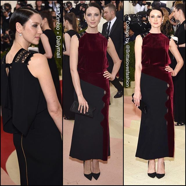 Outlander's Caitriona Balfe looking chic and classy in Roland Mouret