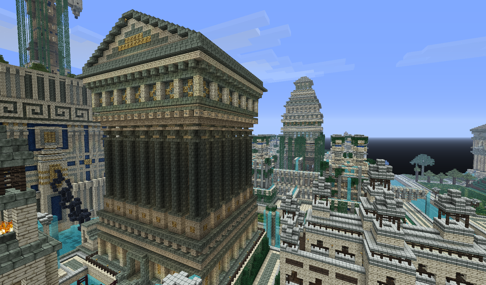 The Golden City - A Massive Ancient Metropolis In The Making - Screenshots