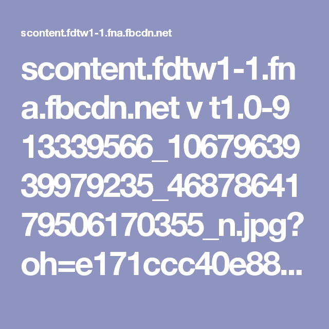 scontent.fdtw1-1.fna.fbcdn.net v t1.0-9 13339566_1067963939979235_4687864179506170355_n.jpg?oh=e171ccc40e882c27b234f374e18b35ec&oe=581DCA3E