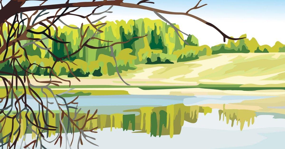 13 Wallpaper Pemandangan Lukisan Lukisan Pemandangan Indah Dengan Komputer 05 Wallpaper Download Wallpaper Pemandangan Lukisan Di 2020 Pemandangan Lanskap Gambar