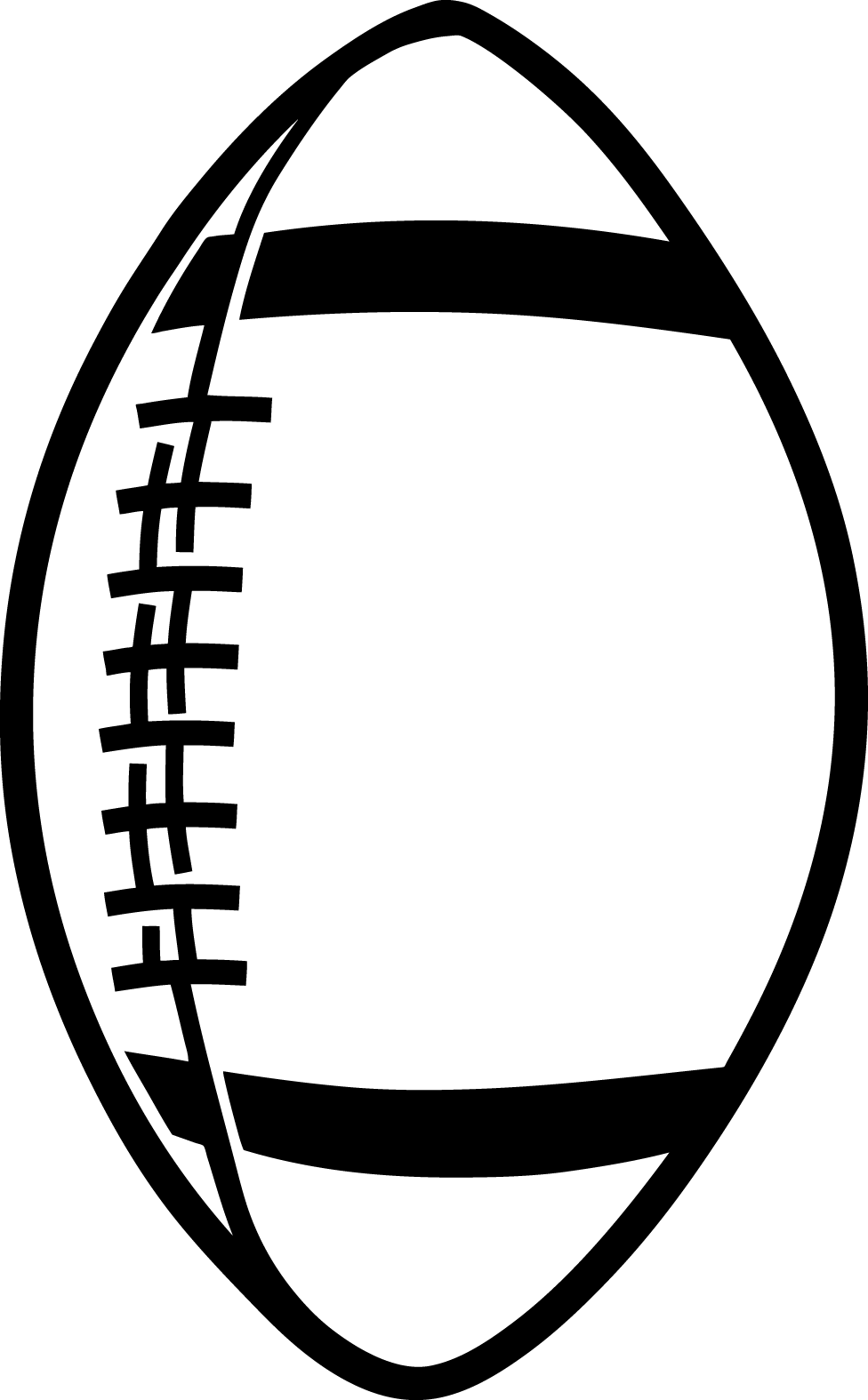 american football outline - photo #16