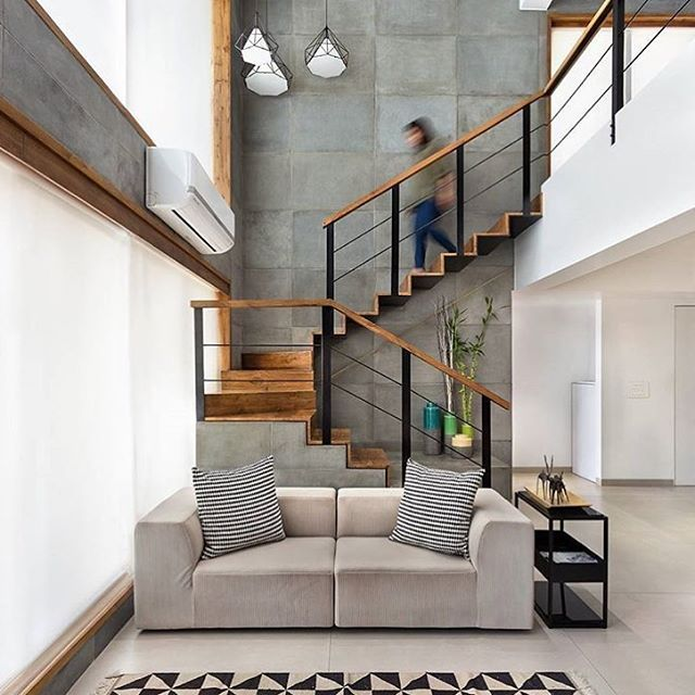 10 Stunning Staircase In Living Room Ideas