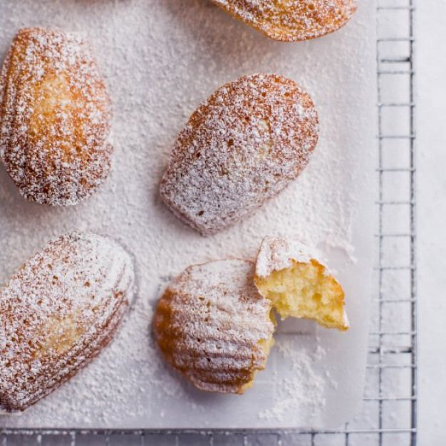 classic madeleines. Classic French madeleines! Perfect for a cookie exchange -- the batter can be made a day early and they bake in less than 10 minutes!