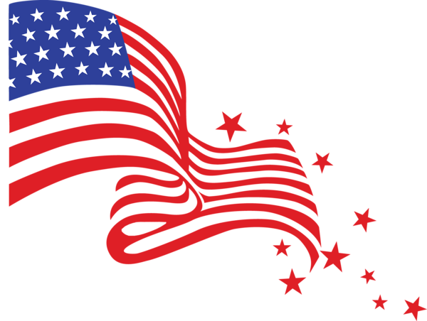 Transparent Usa Flag Png Clipart Picture 4th Of July Images 4th Of July Clipart American Flag Images
