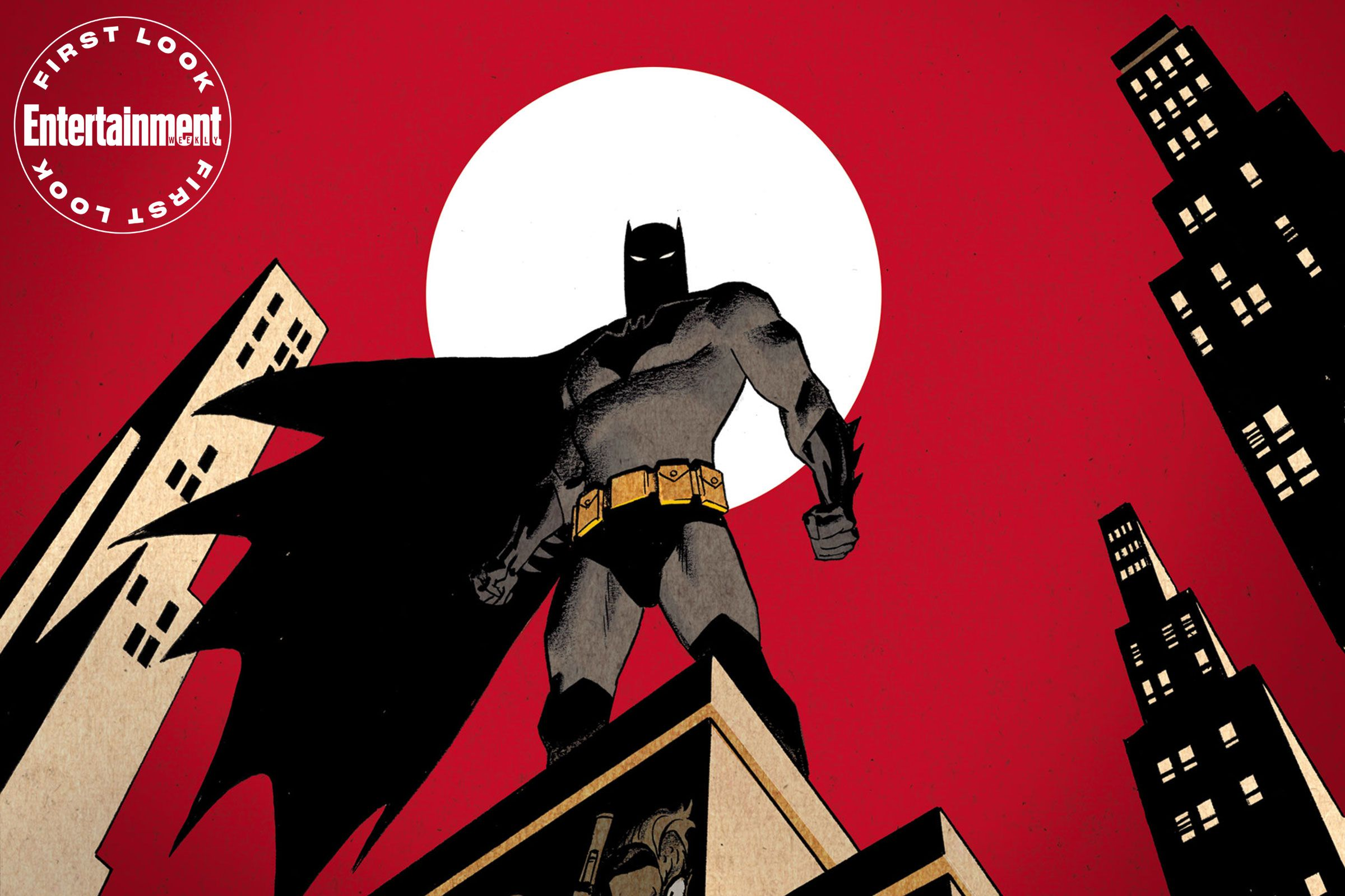 Exclusive New Batman The Animated Series Tie In Comic Coming