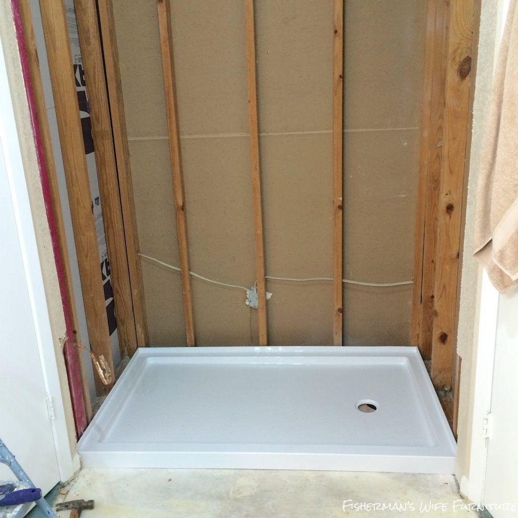 Bathroom Magnificent Dreamline Shower Pan Installation Also Delta Shower Pan Installation Prevent Da With Images Master Bathroom Shower Shower Installation Diy Tile Shower