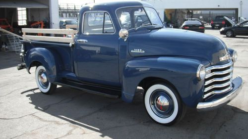 Sell Used 1953 Chevrolet 5 Window Pickup 1947 1948 1949 1950 1951 1952 Chevy 3100 Truck In North Hollywood Classic Chevy Trucks Chevy 3100 Classic Cars Trucks