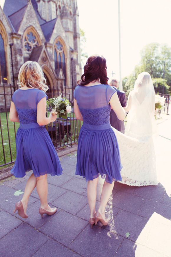 Long Lace and Loveliness ~ A Relaxed London Wedding | Wedding ...