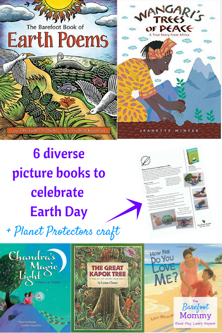 6 Diverse Picture Books For Earth Day The Barefoot Mommy Preschool Books Kindergarten Books Picture Book